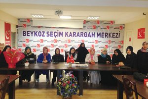 Beykoz'da önce kadınlar bir araya geldi