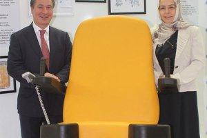 Dikey doğum koltuğu üretildi