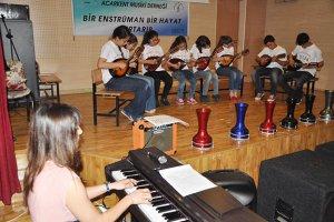 Acarkent'ten Yenimahalle'ye Müzik Sınıfı