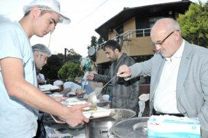 Beykoz'da iftar sofraları bereketli