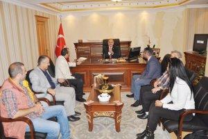 KAS-DER Beykoz Yöneticileri'nden Katırcı'ya ziyaret