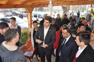 CHP'liler Beykoz'a vergi iadesini anlattı