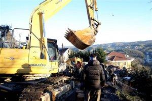Beykoz'da Marifet Derneği'nin binaları yıkıldı